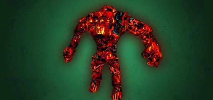 Готика 1 – Огненный голем