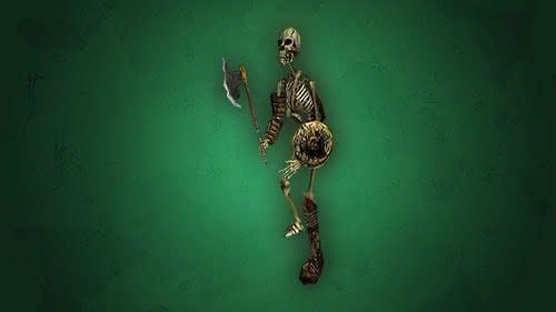 Боец скелетов – монстры Готики 1