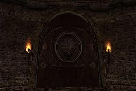 Дверь в Чертогах Ирдората