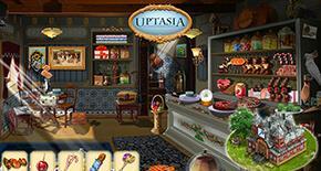 Uptasia - экранная заставка в начале игры