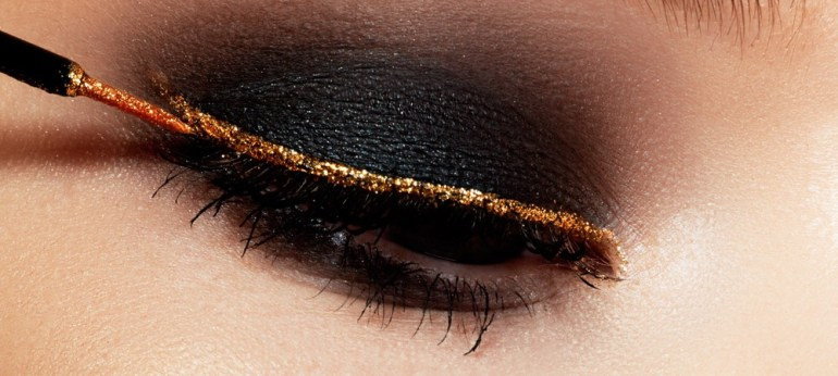 Image result for Latest Glitter And Shimmery Eyeliner Makeup Ideas to follow Now