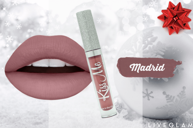 LiveGlam KissMe Liquid Lipstick Club Subscription - December Collection 2017 & Promos