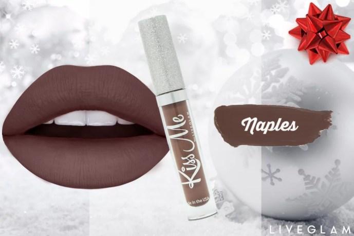 LiveGlam KissMe Liquid Lipstick Club Subscription - December Collection 2017 & Promos