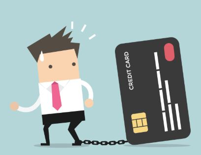 credit card dept, card usage,over limit credit card purchase