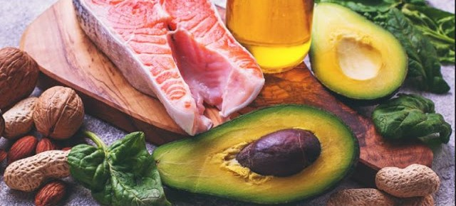 fish and nutty keto foods