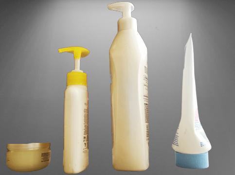 Beauty cosmetics harms on skin, skin rashes