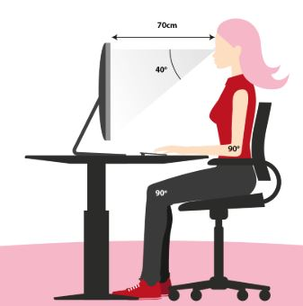 correct sitting position in office chair, Lumbar degenerative disease , Lumbar disc problems, Lumbar disc protrusion , Lumbar disc displacement , Lumbar disc compression,hunching neck , Neck pain, cervicalgia, sitting in front of computer, sitting in front of monitor ,sitting in front of laptop, sitting in front of desktop, eye disease , cervical degenerative disease , cervical disc problems, cervical disc protrusion , cervical disc displacement , cervical disc compression