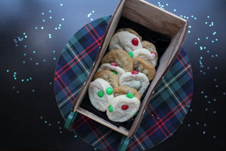 Cookies in sleigh