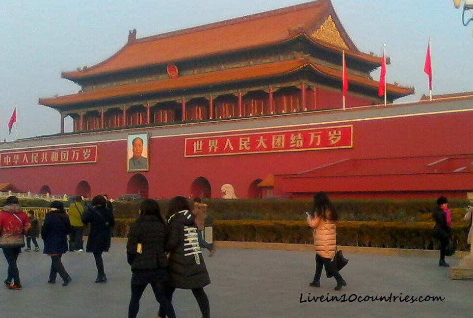 traveller's experience of the China 72 hour transit visa Forbidden City
