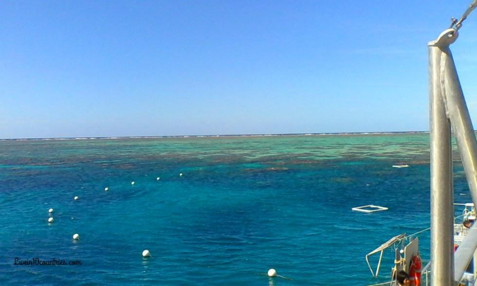 Great Barrier Reef boat ride