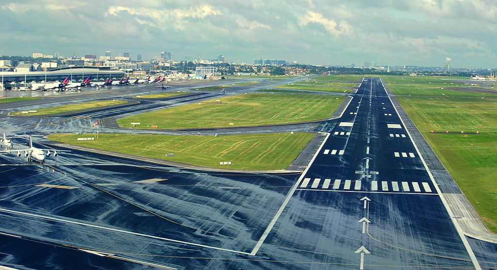 The runway that will be your view for several hours on your stopover