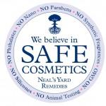 We Believe In Safe Cosmetics Logo