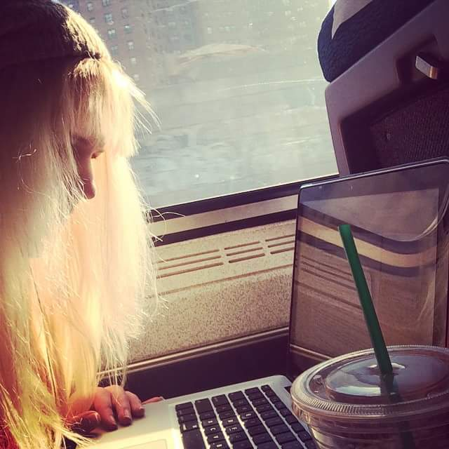 Writing, trains, and Carrie, Oh My!