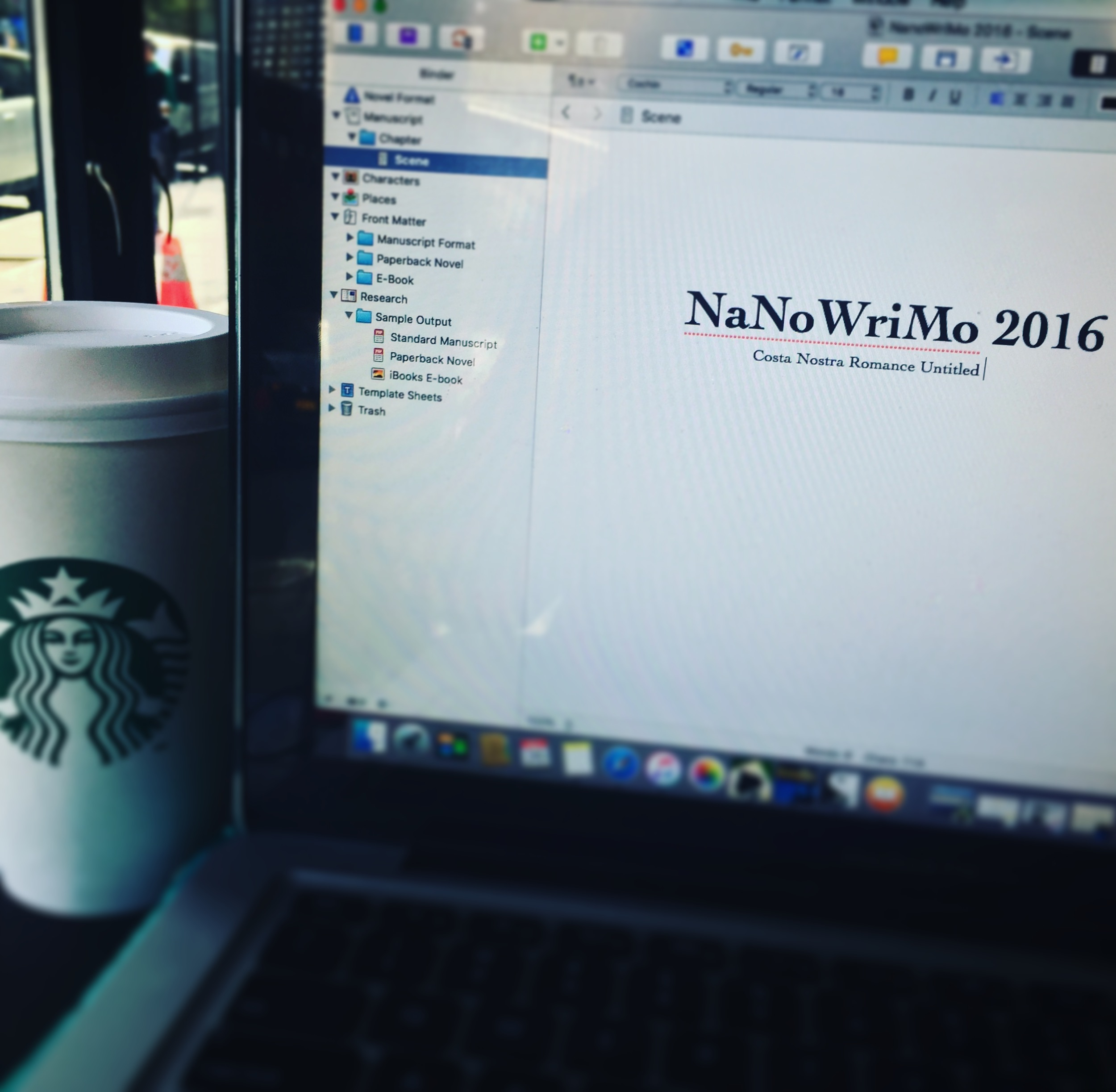 Happy NaNoWriMo!