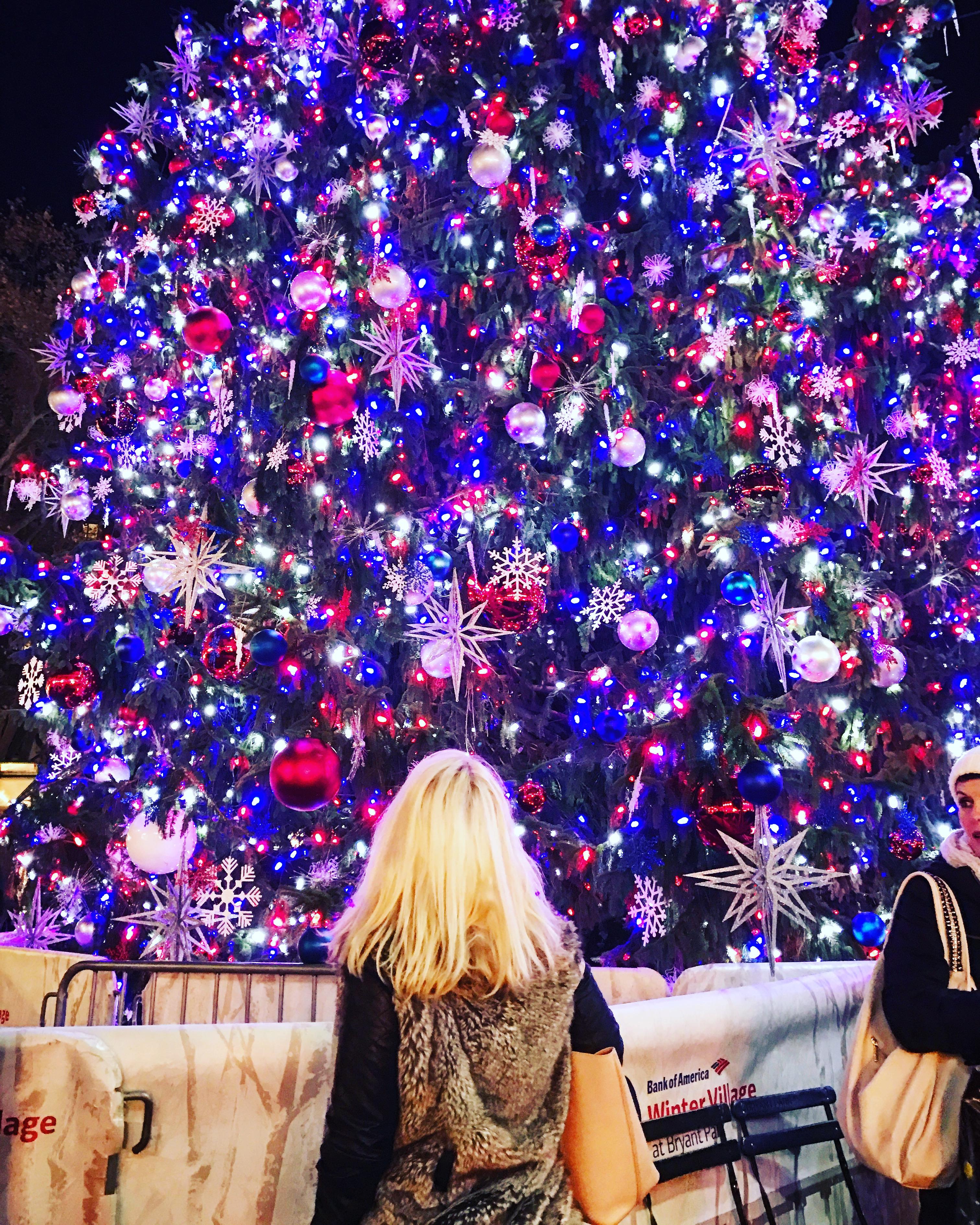 Winter at Bryant Park: The Tree Lighting