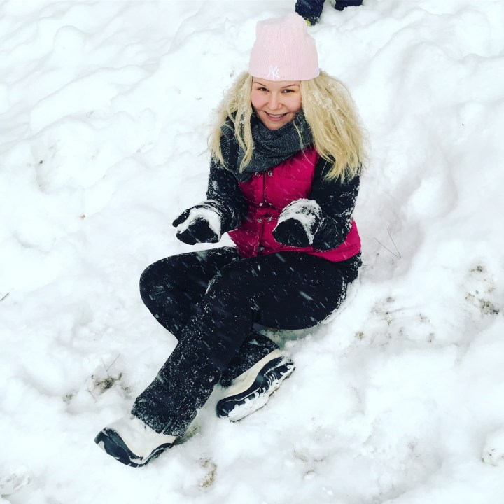 Wanderlusting in the Snow on a Snow Day