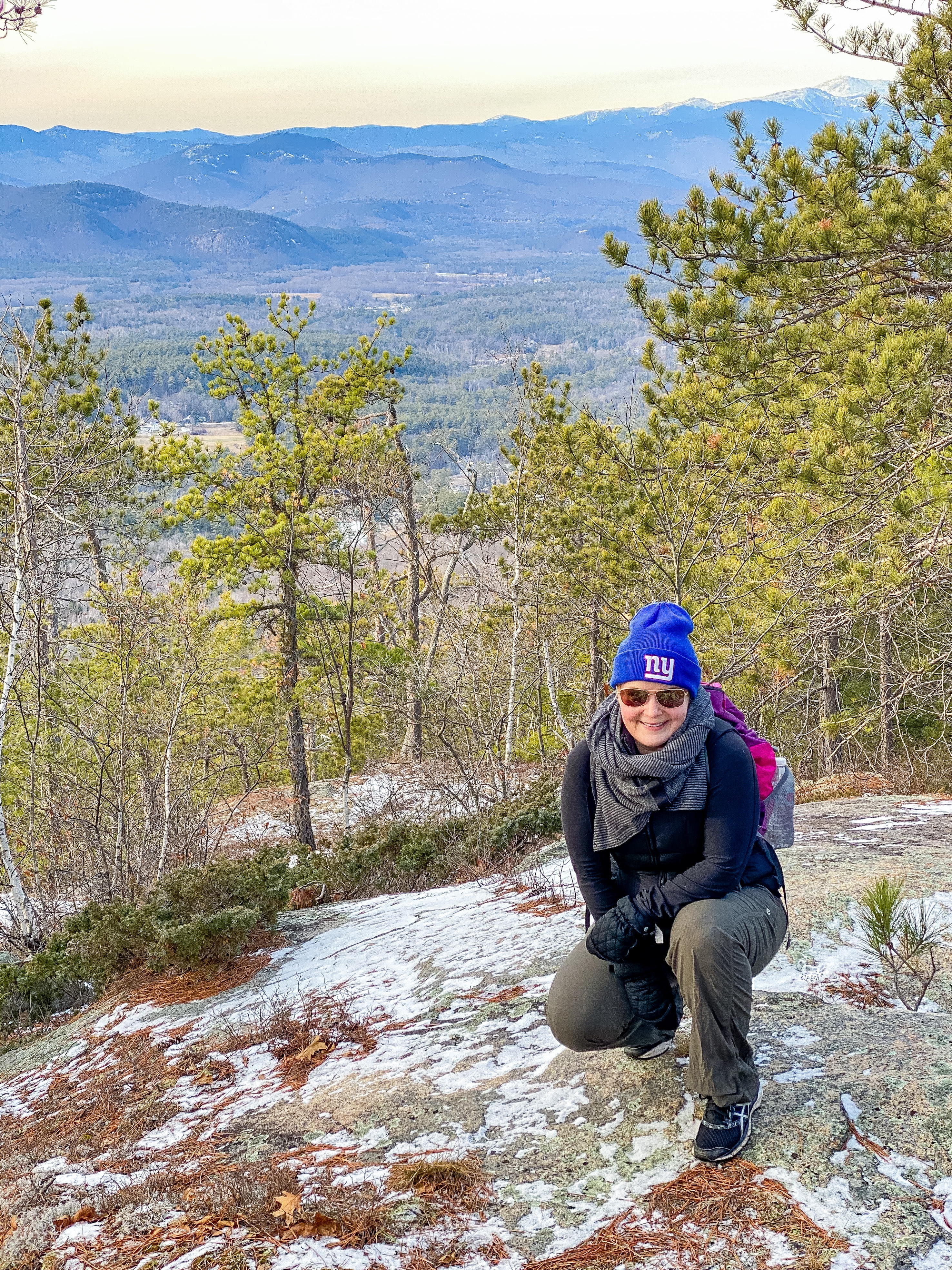 2021 New Year's Hike: Peaked Mountain