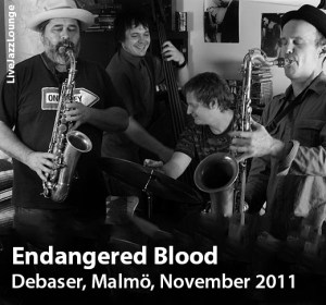 Endangered Blood – Debaser, Malmo, Sweden, November 2011