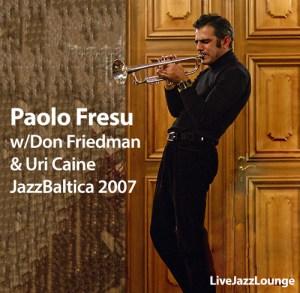 Paolo Fresu with Don Friedman & Uri Caine – JazzBaltica, Schloss Salzau, July 1, 2007