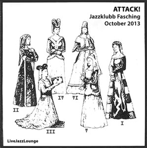 """Anna Högberg Sextet """"ATTACK!"""" – Jazzklubb Fasching, October 2013"""