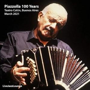 Off-Jazz: Piazzolla 100 Years – Teatro Colón, Buenos Aires, March 2021