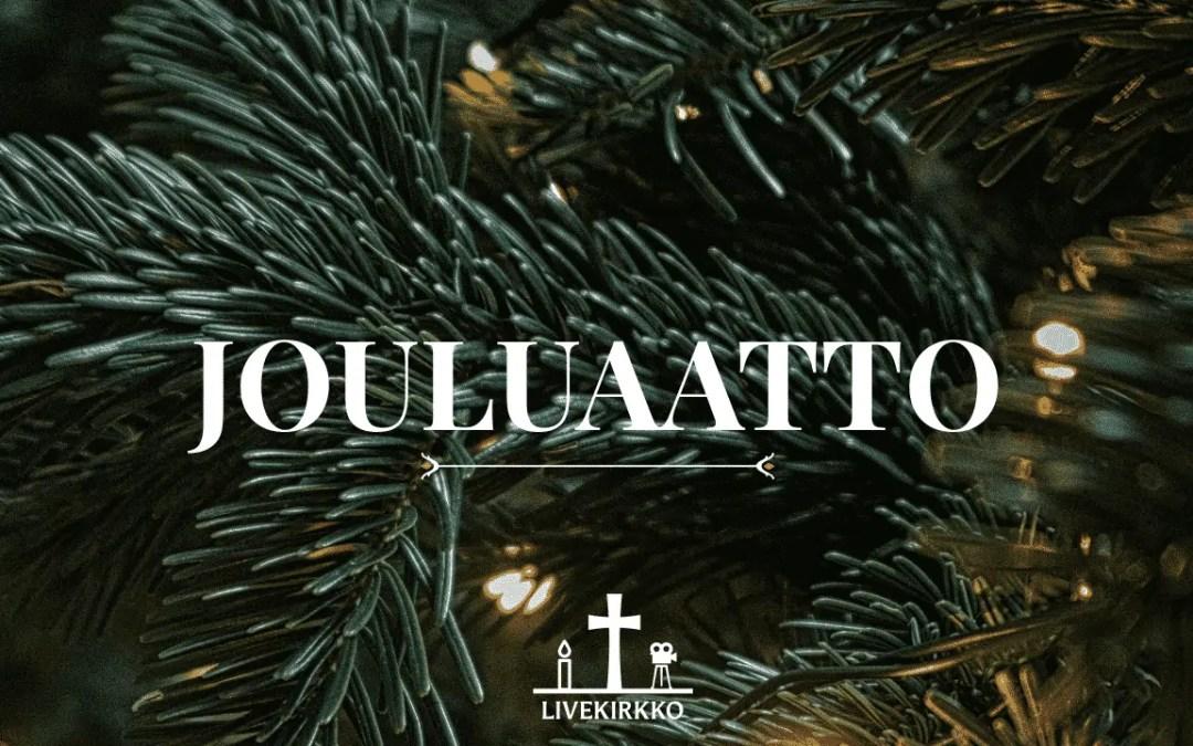 24.12.2019 klo 16 – Jouluaaton jumalanpalvelus Hyvän Paimenen kirkosta
