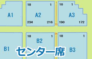 横浜アリーナ センター席 座席番号 通し