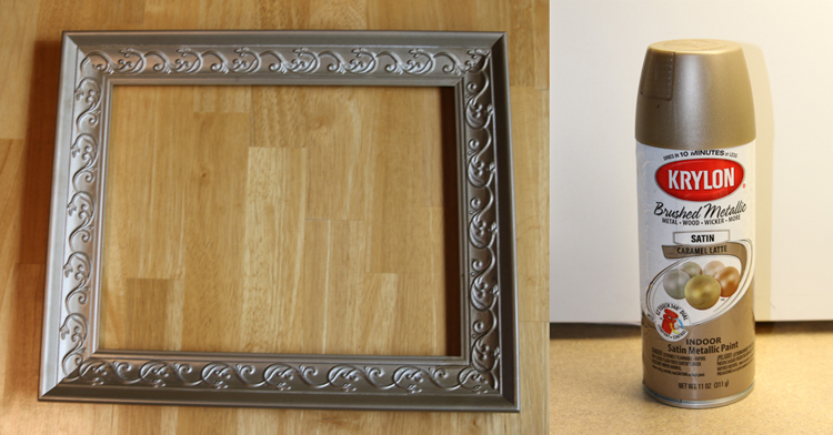 DIY Twine & Clothespin Picture Frame Makeover