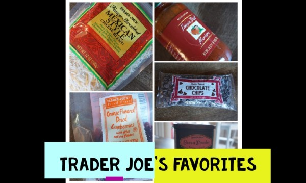 Trader Joe's Favorites logo and products