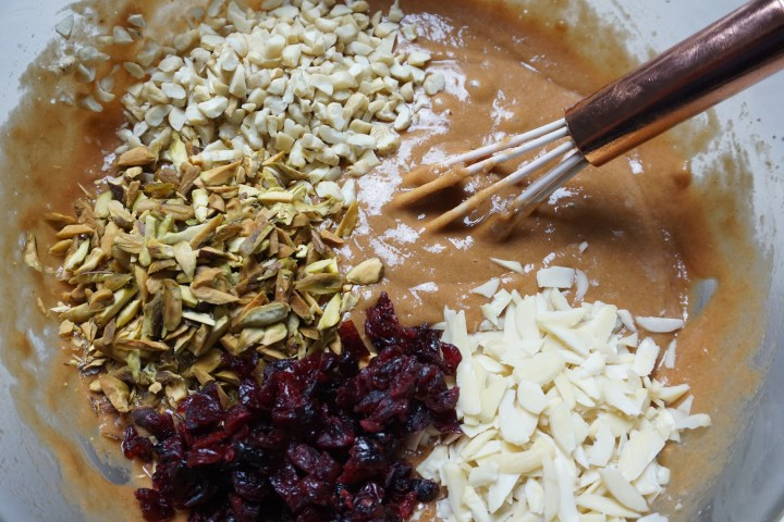 chopped nuts added