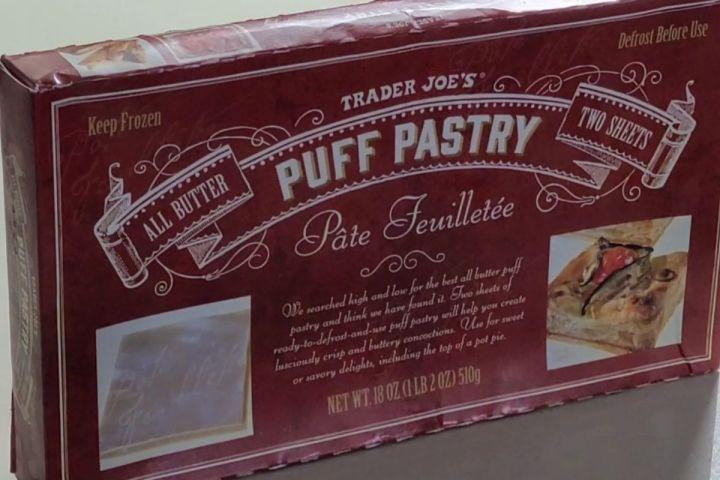 Trader joe's puff pastry sheet