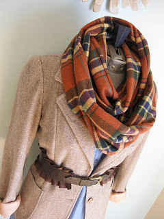 H is for Handmade infinity scarf pic_6184