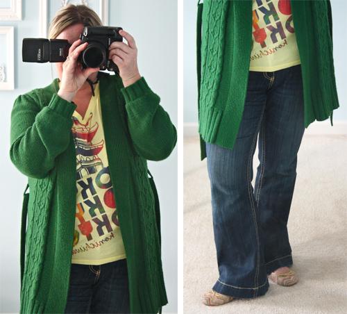 green old navy sweater ii