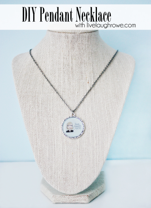diy pendant necklace