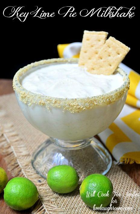 Key-Lime-Pie-Milkshake 1 willcookforsmiles.com