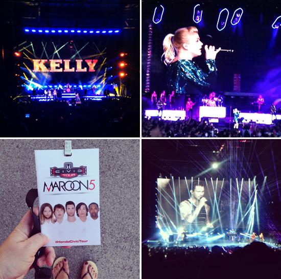 Kelly Clarkson and Maroon 5