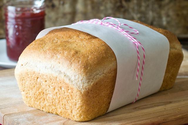 Honey Wheat Bread from Tastes of Lizzy T