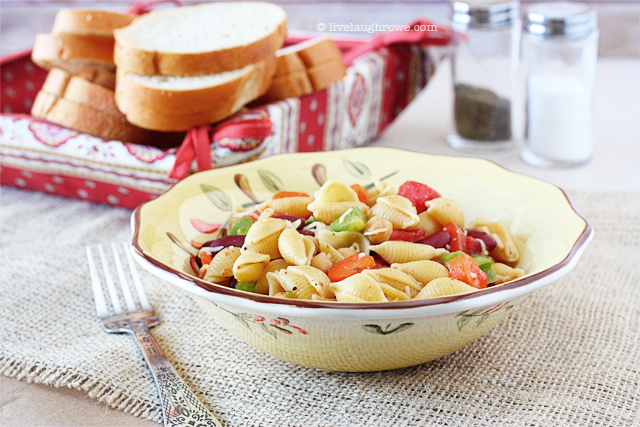 Hearty Minestrone Pasta Salad