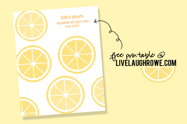 Lifes Short Printable at Live Laugh Rowe