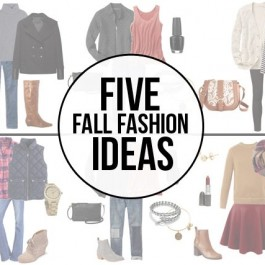 Five Fabulous Fall Fashion Ideas -- favorites on mine! Time to do a little shopping before the cool weather rolls in. www.livelaughrowe.com
