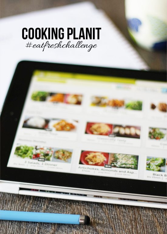Join the challenge of using the Cooking Planit app to plan your meal and use fresh ingredients for the next two weeks! #EatFreshChallenge #menuplanning