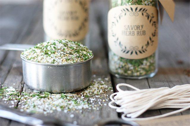 Homemade Savory Herb Rub
