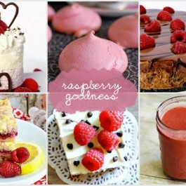 Raspberry Goodness Features with Live Laugh Rowe