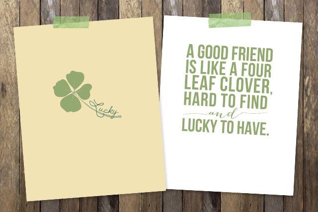 St. Patrick's Day Prints