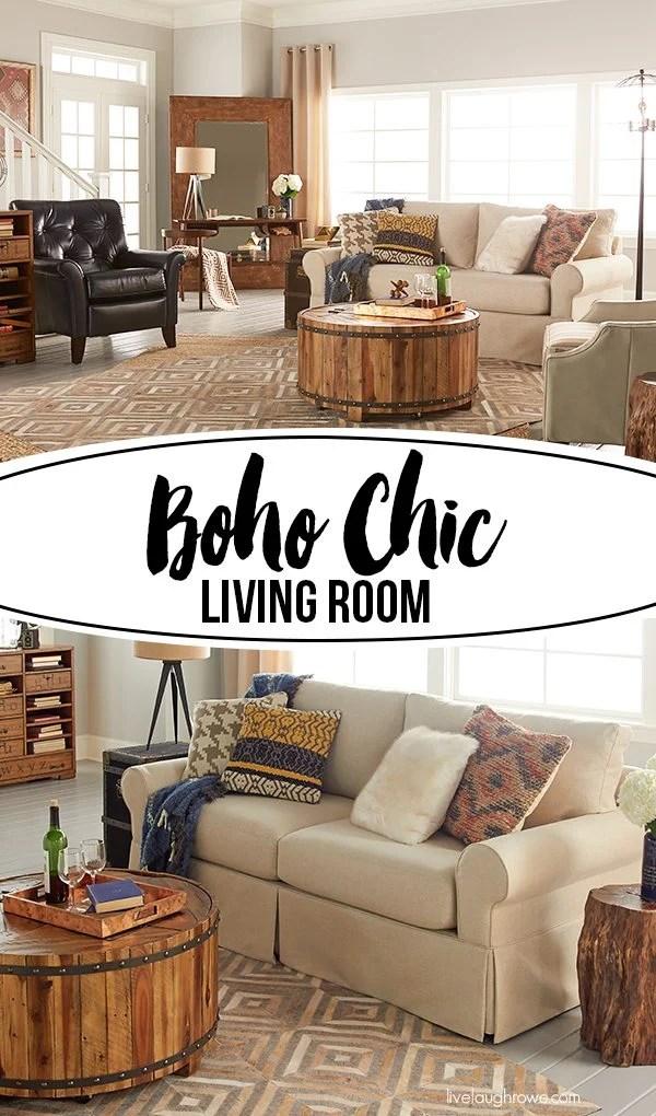 title   Boho Chic Living Room