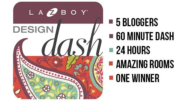 I was flattered to be a part of the October 2015 La-Z-Boy Design Dash and I couldn't be happier with how my room turned out. Check it out! livelaughrowe.com