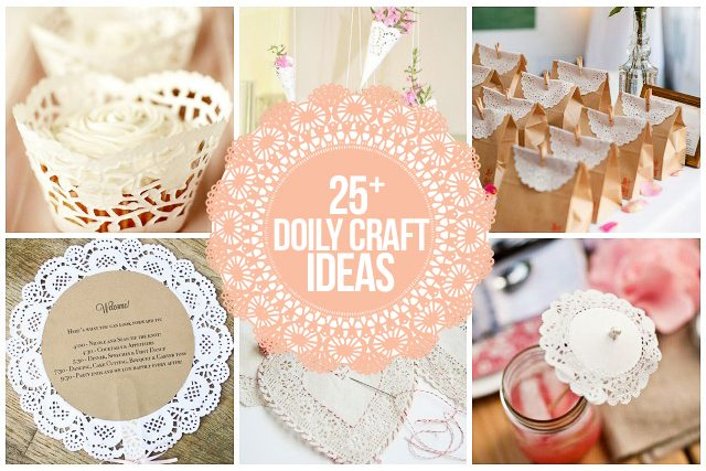 25 Doily Craft Ideas That Are Truly Inspirational