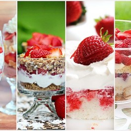 Delicious Strawberry Dessert Recipes -- perfect for the warmer weather!