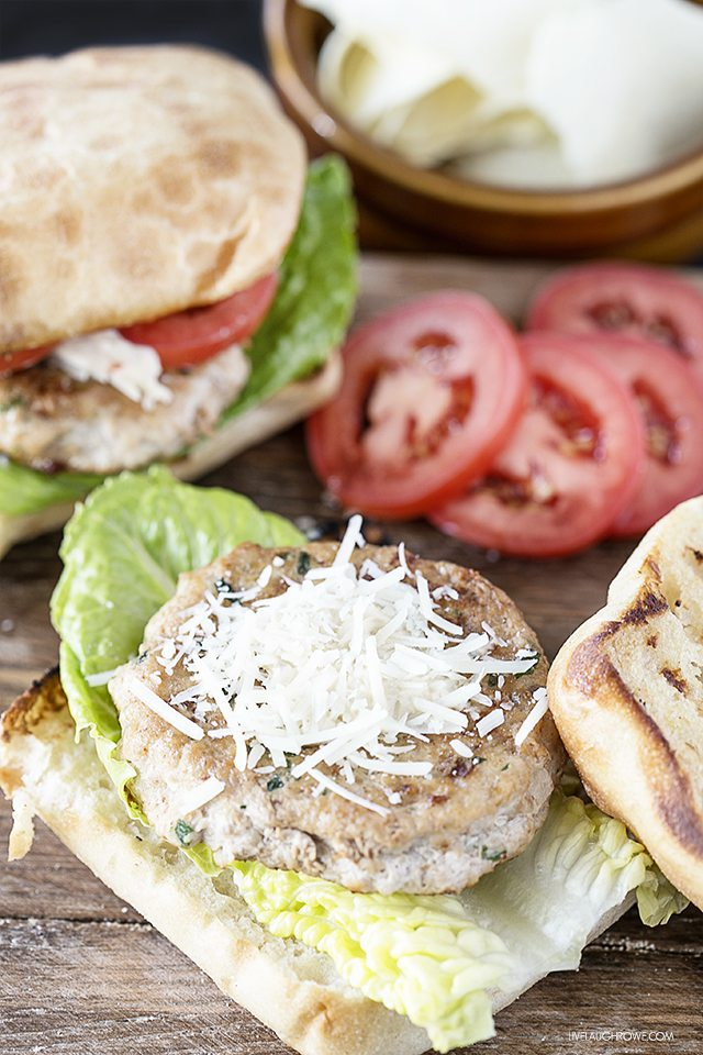 Love Chicken Caesar Salads? Then you'll love these Chicken Caesar Burgers. They're not only easy to make, but packed with flavor too! livelaughrowe.com