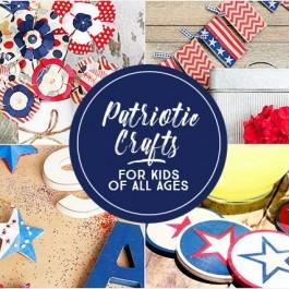 Patriotic Crafts for Kids of all Ages. livelaughrowe.com